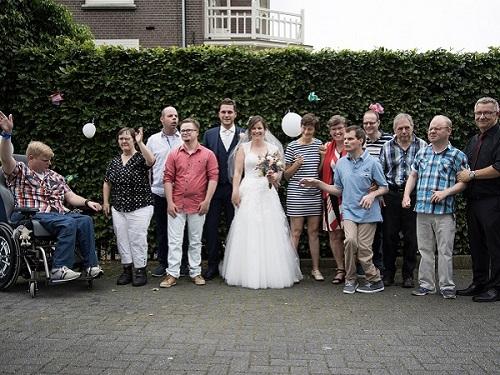 bruiloft, Thomashuis, Thomashuis Beneden-Leeuwen, gehandicaptenzorg