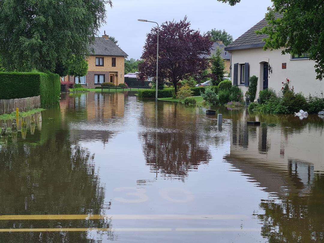 Bunde overstroming 2021
