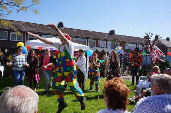 Het circusfeest in Thomashuis Wagenberg