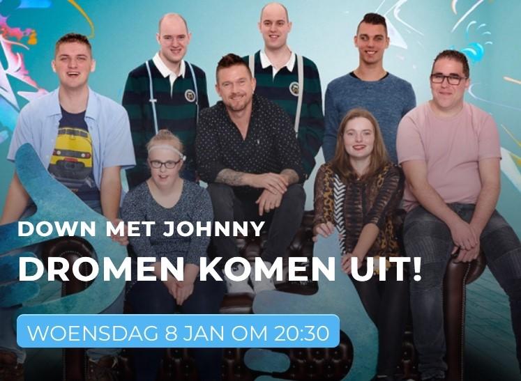 Down met Johnny laat wens uitkomen in Thomashuis Etten-Leur