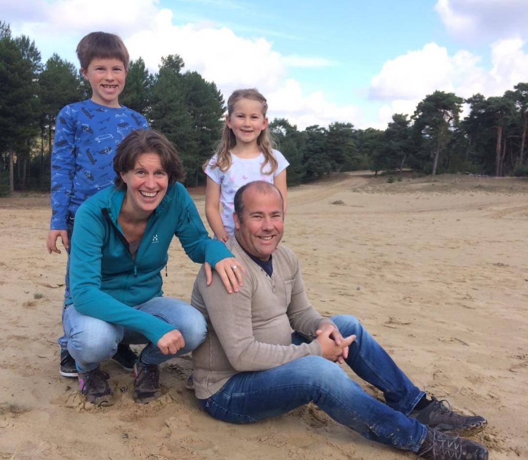 Het gezin van Luc & Laura